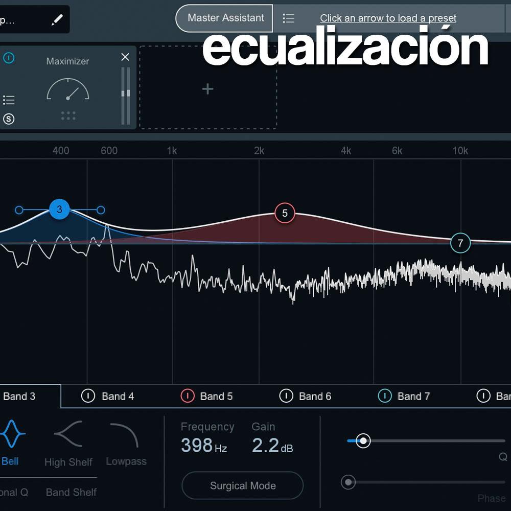 Sts · Ecualización