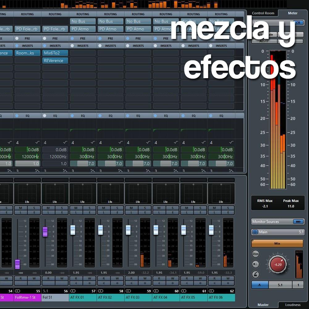 Sts · Mezcla y Efectos