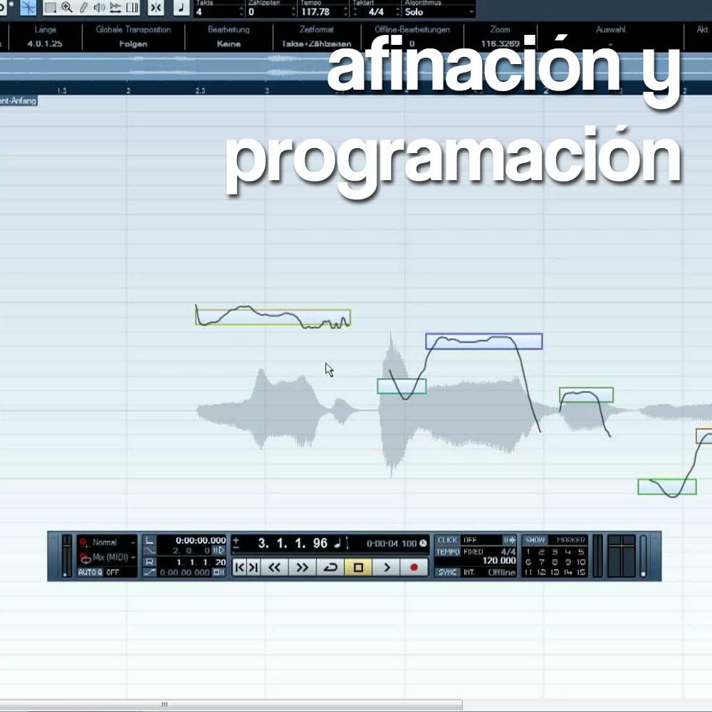 Afinación y Programación